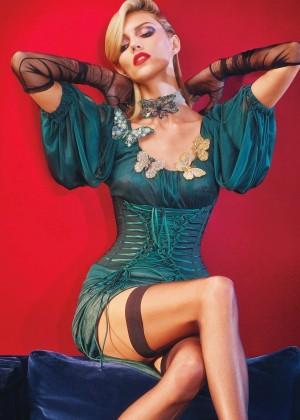 Anja Rubik & Daria Strokous - W Magazine (September 2014)
