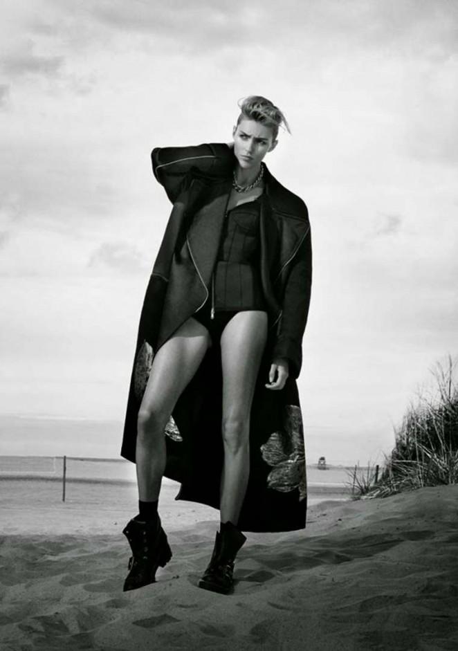 Anja Rubik – Flair Magazine (October 2014)