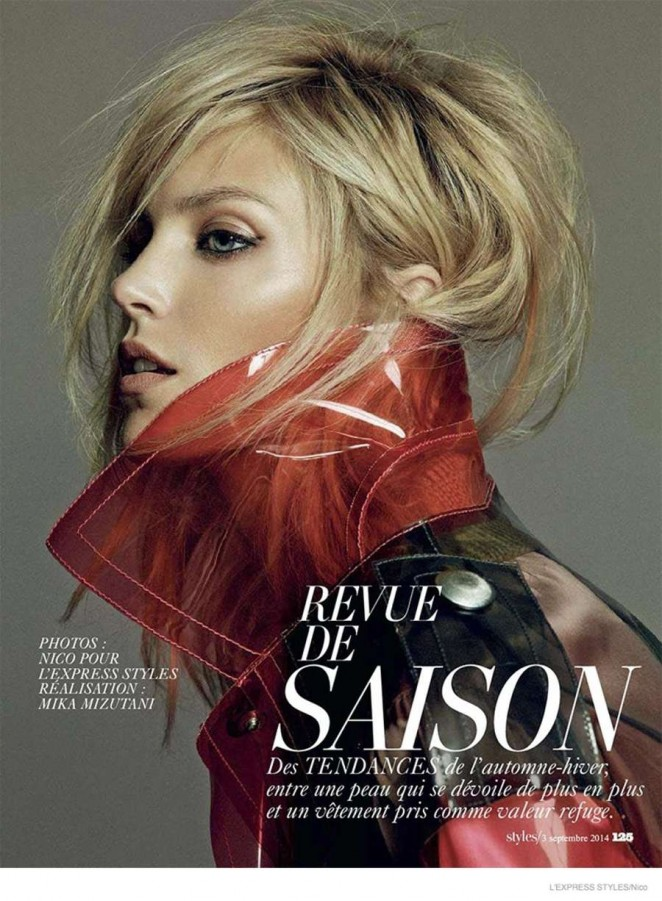 Anja Rubik - L'Express Styles Magazine (September 2014)