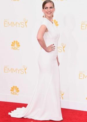 Anna Chlumsky - 66th annual Primetime Emmy Awards in LA