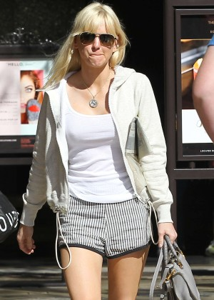 Anna Faris in Shorts out and about in LA
