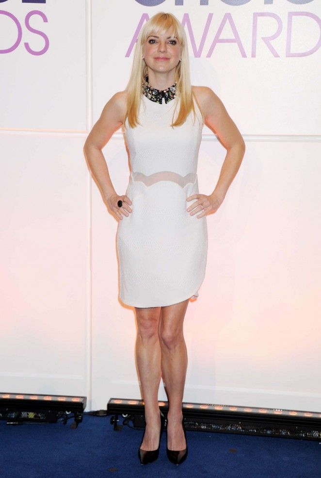 Anna Faris – People's Choice Awards 2015 Nominations Press Conference in Beverly Hills