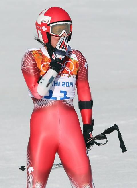 Anna Fenninger, Maria Hoefl-Riesch and Lara Gut – Sochi 2014