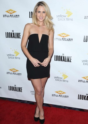 "Anna Hutchison - ""The Lookalike"" Premiere in LA"