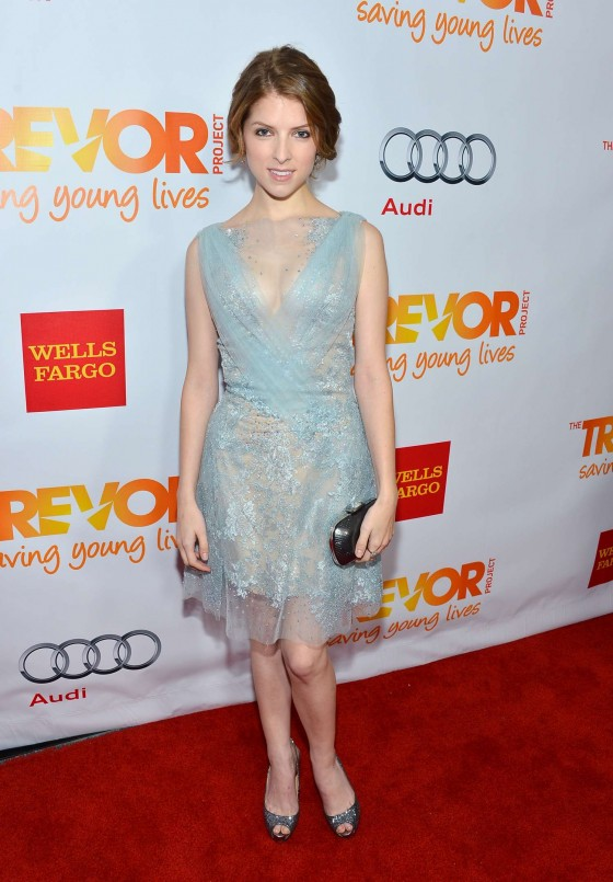 Anna Kendrick 2012 The Trevor Project's Trevor Live Event in LA