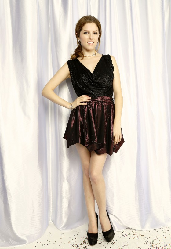Anna Kendrick – 2013 Z100 Jingle Ball Portraits