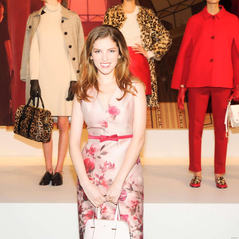 Anna kendrick 2014 fashion show in nyc kate spade 06 gotceleb Good style fashion show cleveland 2014