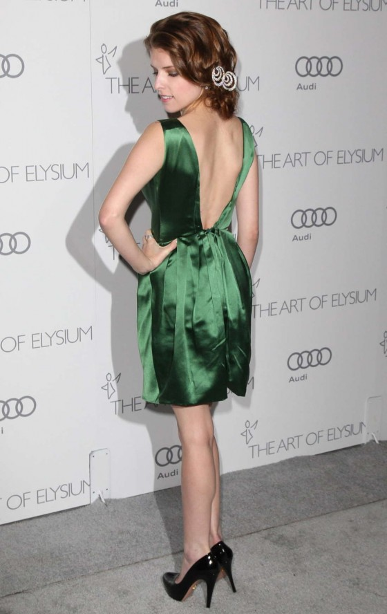 Anna Kendrick at 2013 The Art of Elysium's 6th Annual HEAVEN Gala in LA