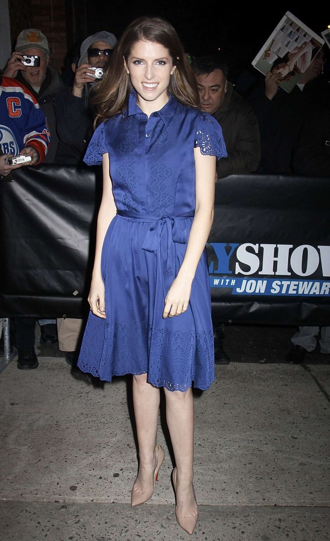 Anna Kendrick: The Daily Show -03