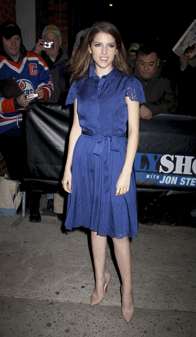 Anna Kendrick: The Daily Show -07