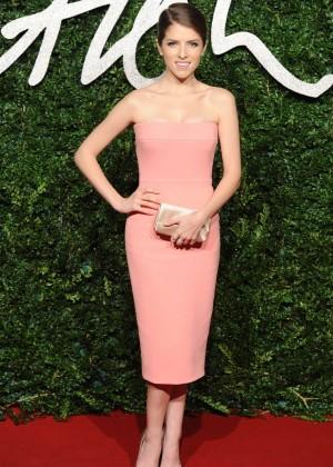 Anna Kendrick - 2014 British Fashion Awards in London