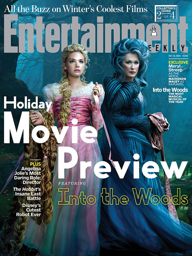 Meryl Streep Anna Kendrick and Emily Blunt: Into the Woods for ...