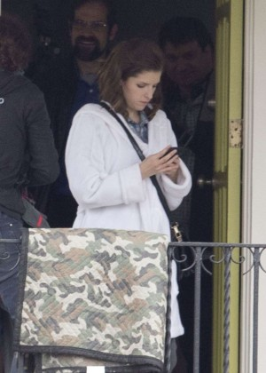 Anna Kendrick on the Set of Mr. Right in New Orleans