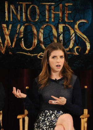 Anna Kendrick - 'Into the Woods' Q&A Event in NYC