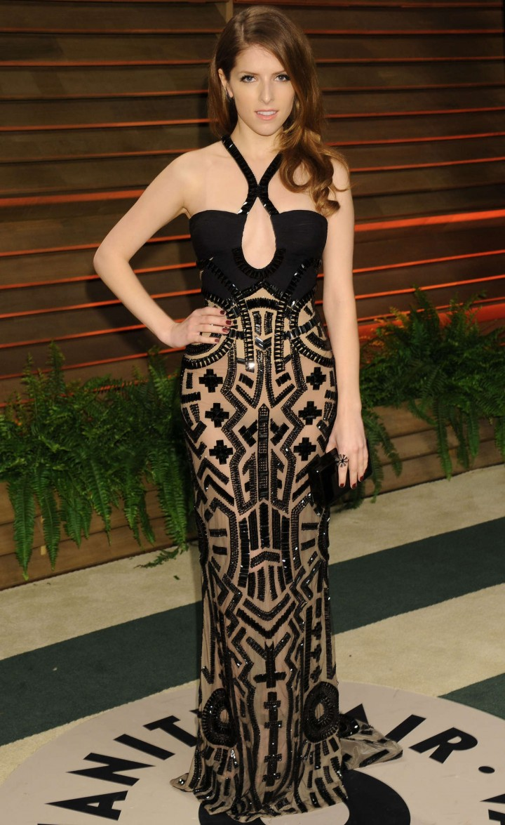 Anna Kendrick: Oscar 2014 - Vanity Fair Party -02