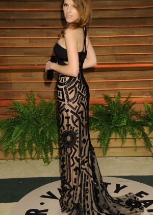 Anna Kendrick: Oscar 2014 - Vanity Fair Party -03