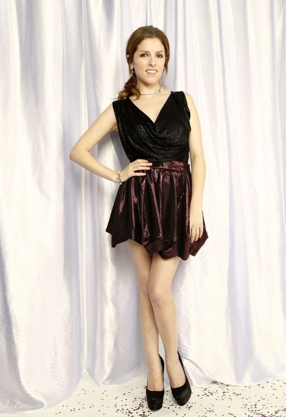 Anna Kendrick – Z100 Jingle Ball 2013 Portraits -02
