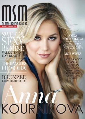 Anna Kournikova: Miami Shoot Magazine -02