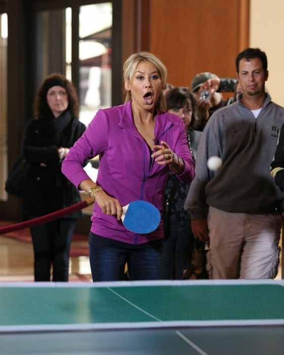Anna Kournikova - Plays Table Tennis-07