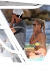 Anna Kournikova - wearing a bikini on a boat in Miami -08