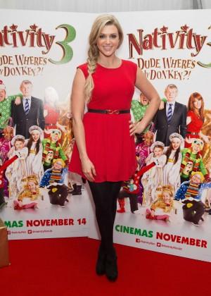 Anna Williamson - Nativity 3: Dude Wheres My Donkey UK Premiere -03
