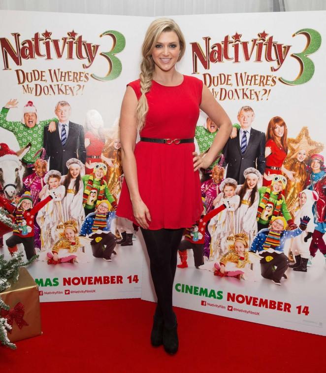 Anna Williamson – Nativity 3: Dude Wheres My Donkey UK Premiere -03