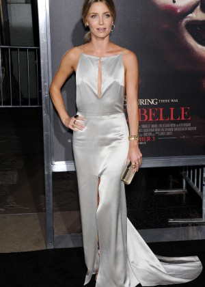 "Annabelle Wallis - ""Annabelle"" Screening in Hollywood"