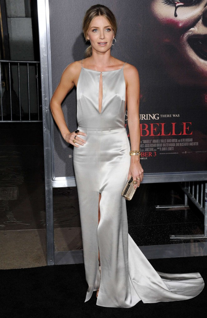 "Annabelle Wallis - ""Annabelle"" Screening in Hollywood"