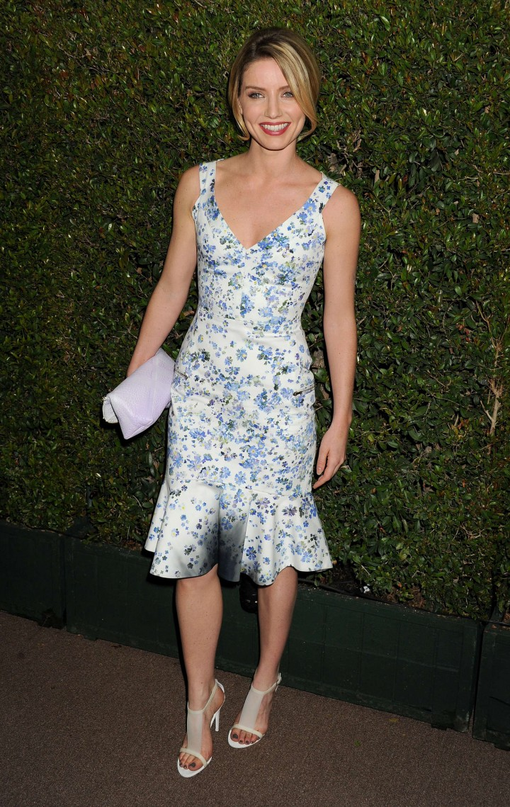 Annabelle Wallis – Decades of Glamour Event in West Hollywood