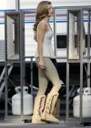 AnnaLynne McCord - In tight pants at 90210 set -21