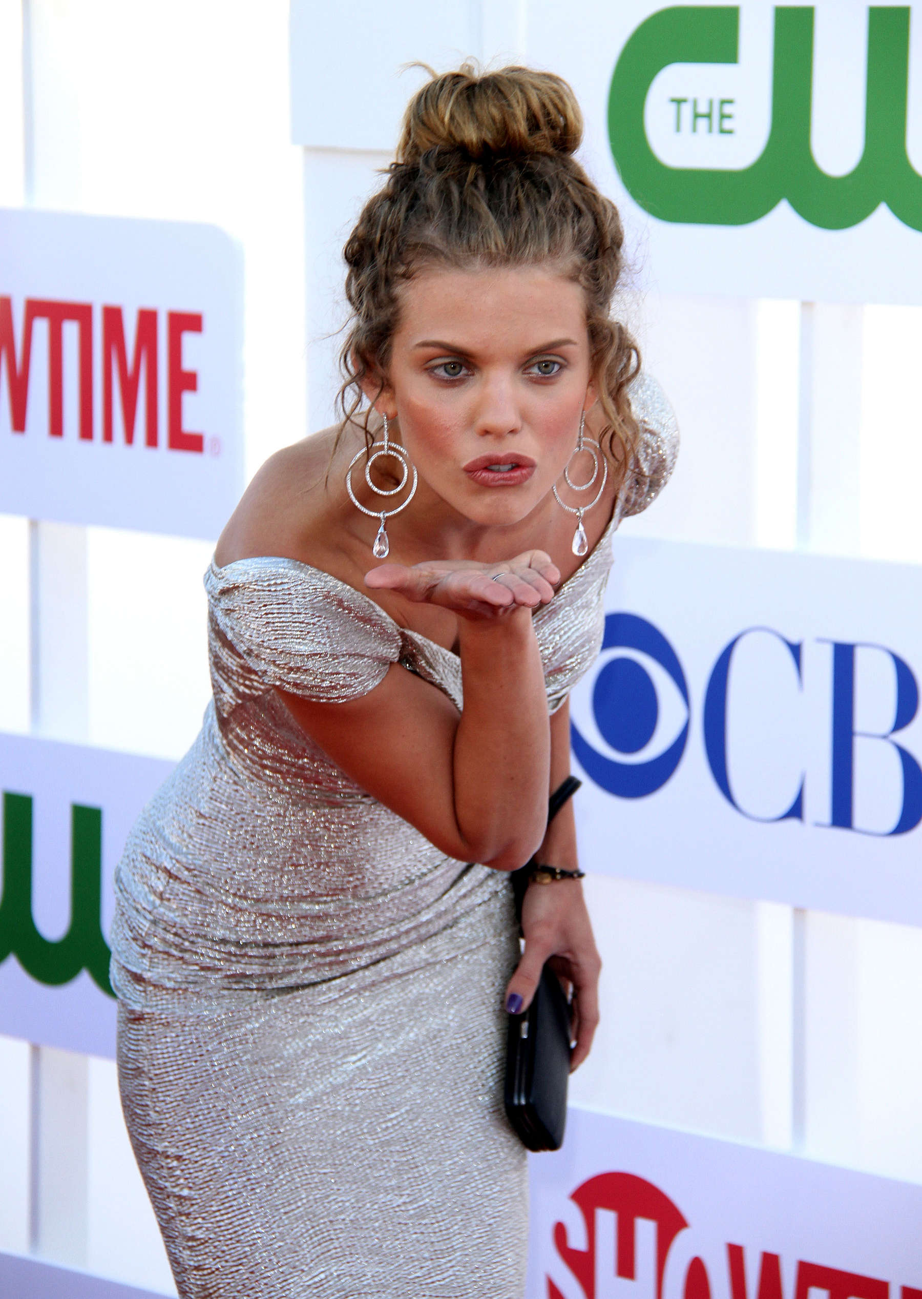 AnnaLynne McCord in tight dress at The Showtime Summer TCA Party in Beverly Hills