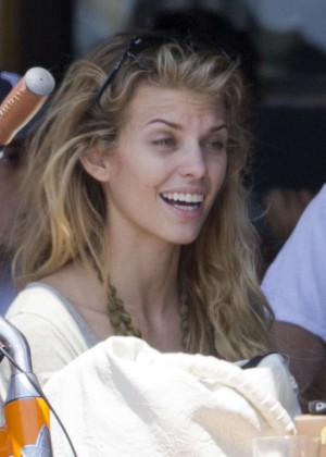 AnnaLynne McCord: Bike Riding -08