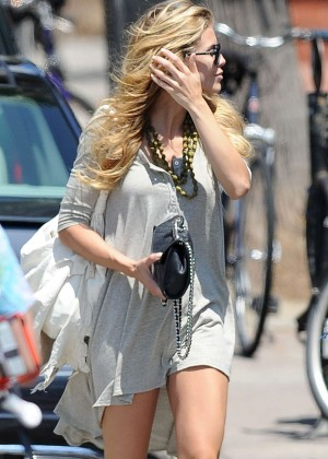 AnnaLynne McCord: Bike Riding -11