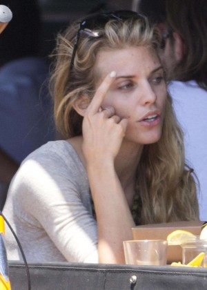 AnnaLynne McCord: Bike Riding -13