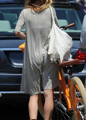 AnnaLynne McCord: Bike Riding -19
