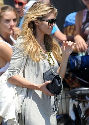 AnnaLynne McCord: Bike Riding -22