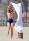 AnnaLynne McCord bikini in California-08