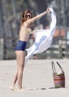 AnnaLynne McCord bikini in California-10