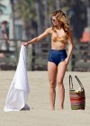 AnnaLynne McCord bikini in California-21