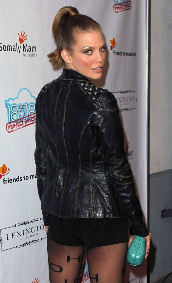 AnnaLynne McCord - Friends to Mankind 18 For 18 event in Hollywood