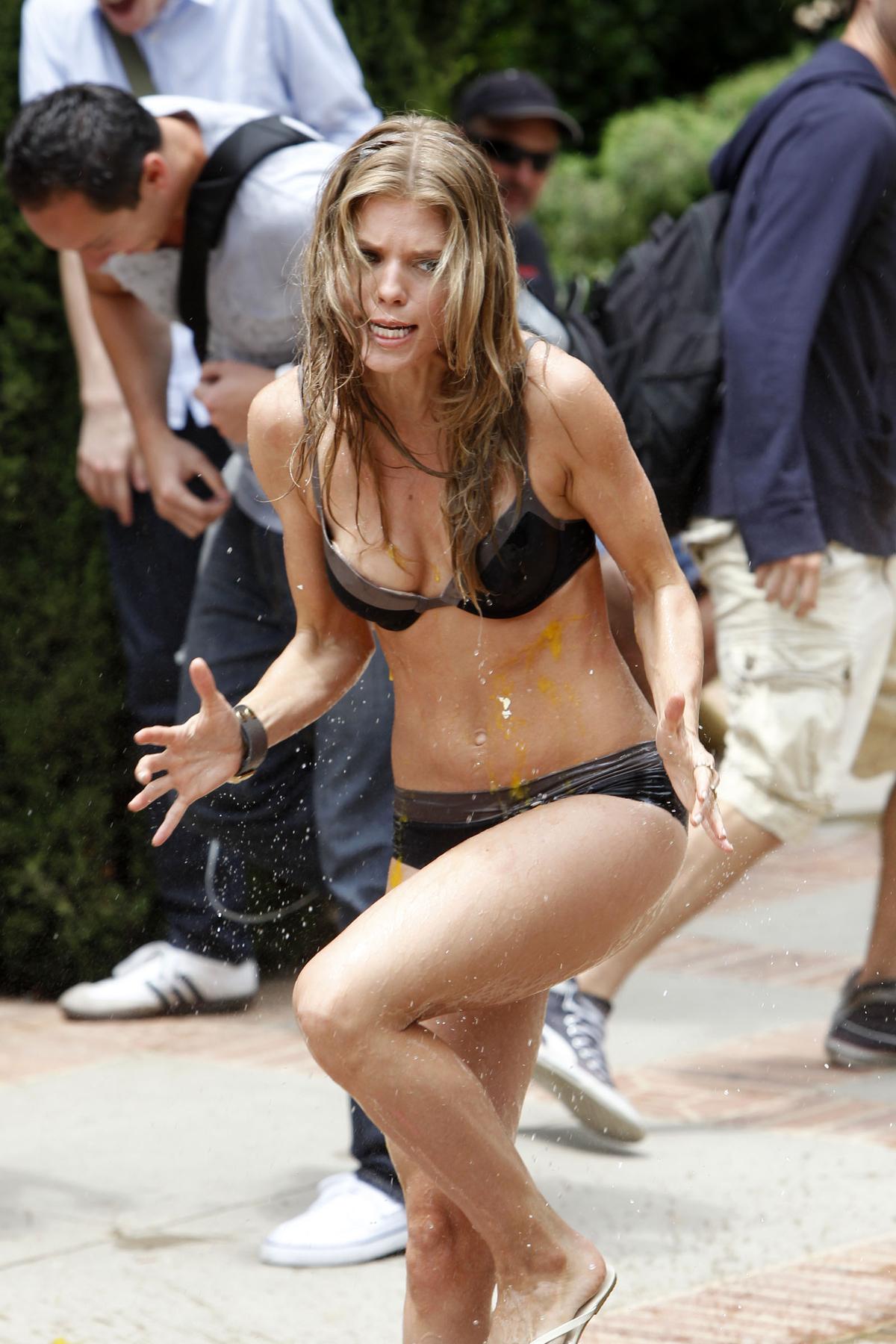 Annalynne Mccord - Hot In Bikini On Set Of 90210-07  Gotceleb-7776