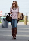 AnnaLynne McCord - On Set of 90210-03