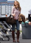AnnaLynne McCord - On Set of 90210-08