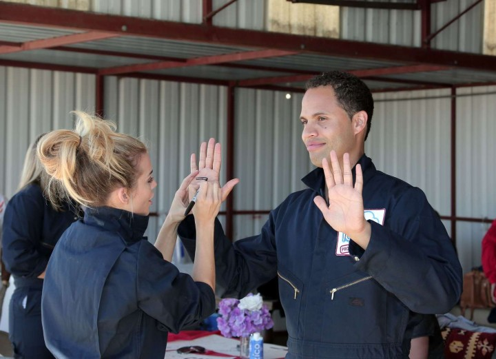 AnnaLynne McCord 2014 : AnnaLynne McCord Skydives from 18 000 feet at Charity Event -02