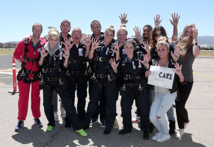 AnnaLynne McCord Skydives from 18 000 feet at Charity Event -32