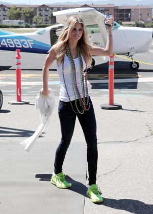 AnnaLynne McCord Skydives from 18 000 feet at Charity Event -63