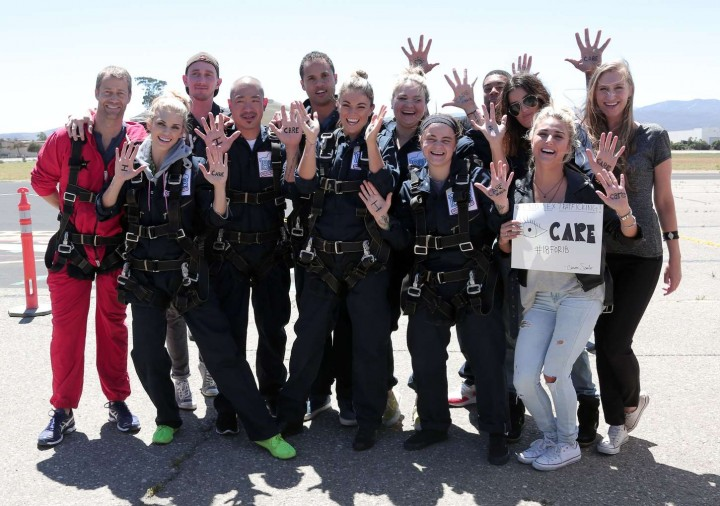 AnnaLynne McCord Skydives from 18 000 feet at Charity Event -64