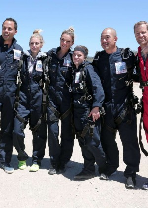 AnnaLynne McCord Skydives from 18 000 feet at Charity Event -87