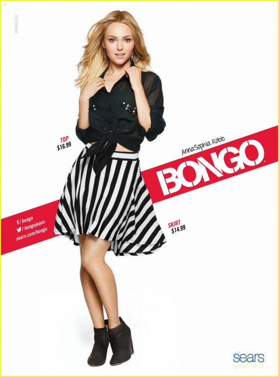 AnnaSophia Robb – Bongo Fall 2013 Photoshoot -12