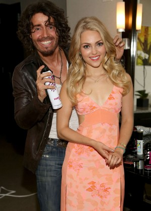 AnnaSophia Robb in Floral Dress at Mark Hill Salon One Year Anniversary in NY